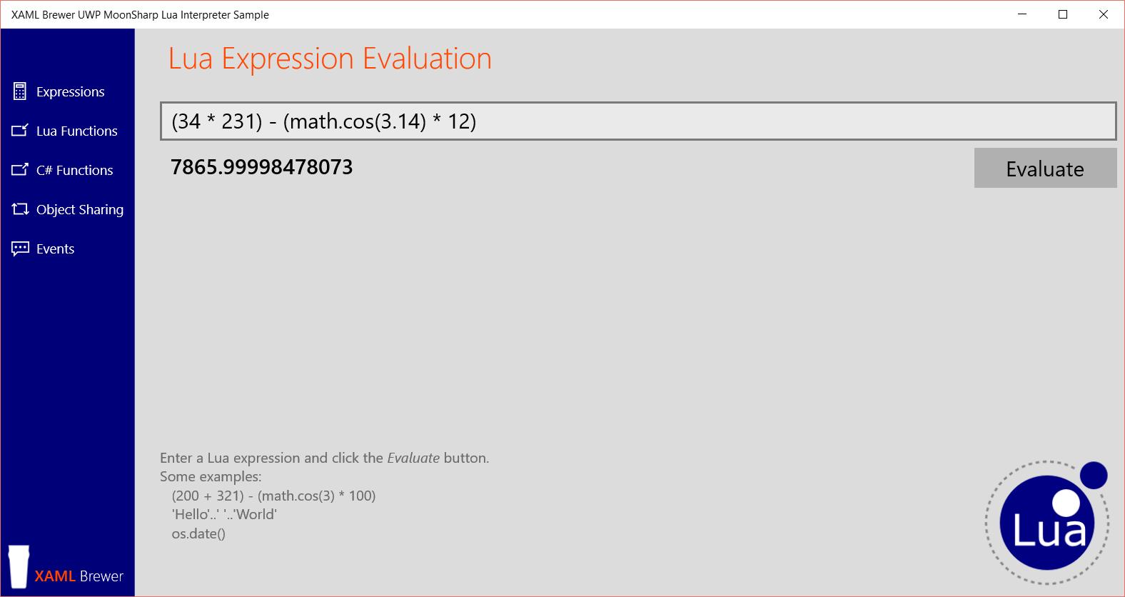 LuaExpression