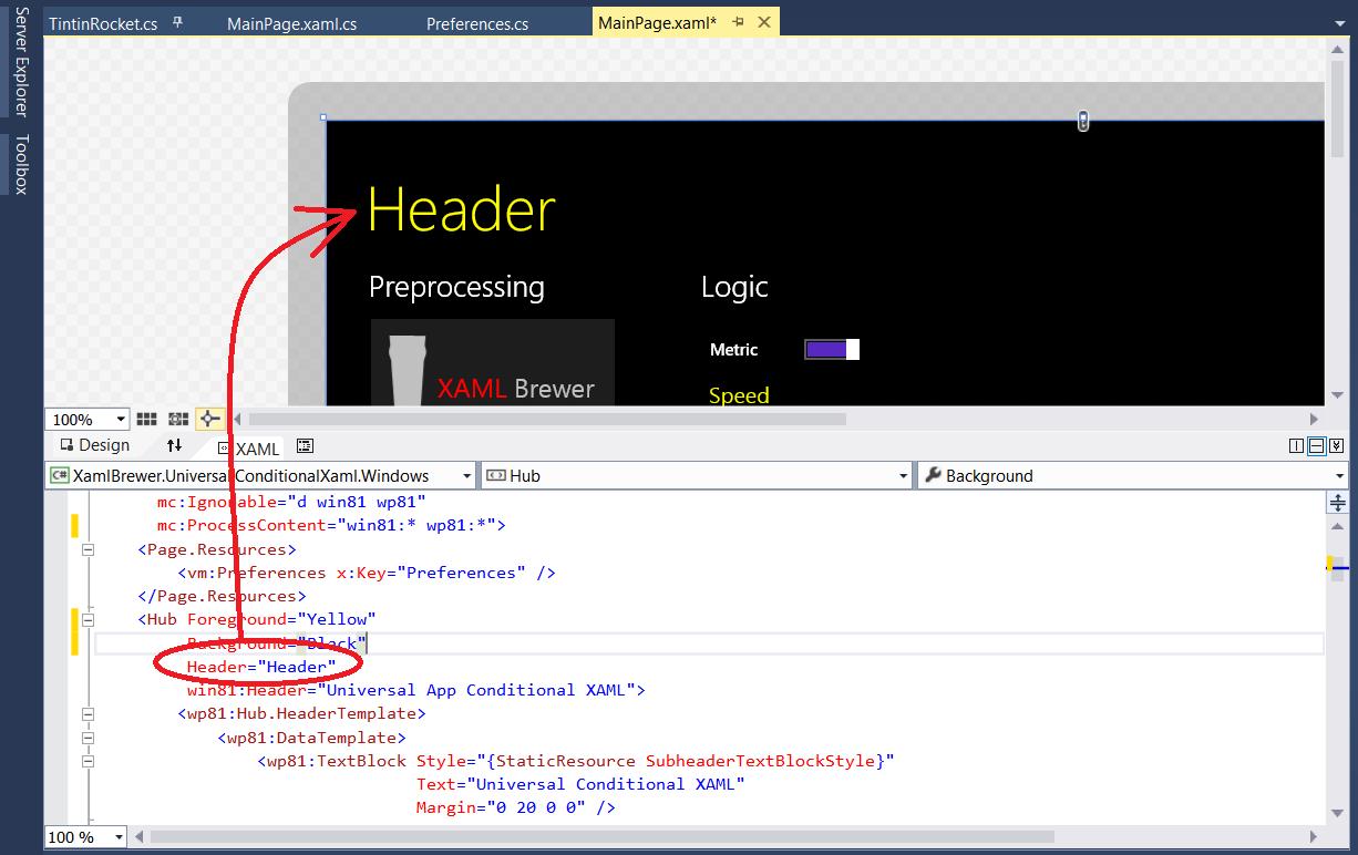 Diederik Krols | Using Conditional XAML in Universal Windows Apps