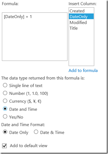 U2U Blog | Watch out with calculated DateTime fields in CSOM