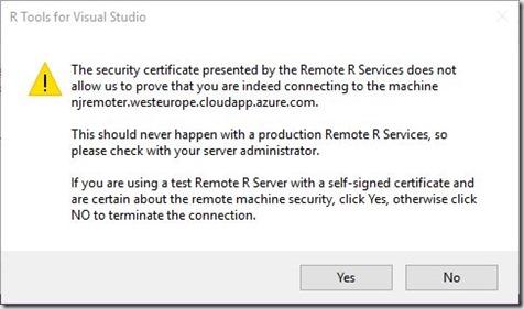 U2U Blog | Using Azure VMs as remote R workspaces in R Tools